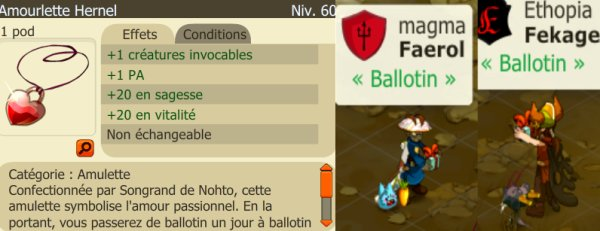 Nouvelles & Saint Ballotin