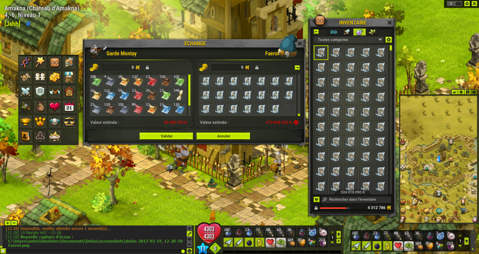 Craft All items, Fin Elevage, Boucliers 2.41, 6x Quête Ocre