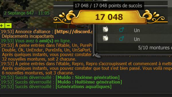 8 Dofus Ivoires (MàJ 2.43)