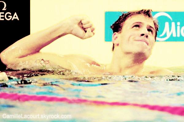 A la découverte de : Ryan Lochte, le nouveau roi des bassins.