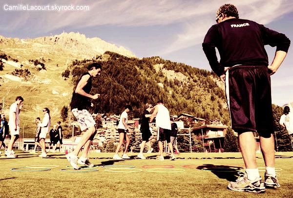 Dans le Val d'Isère, ils bossent dur comme fer.