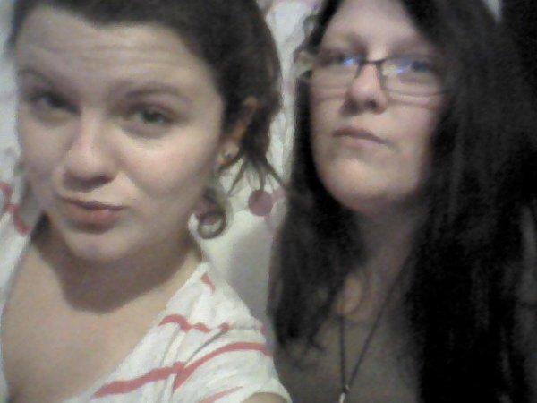 une amie et moi!