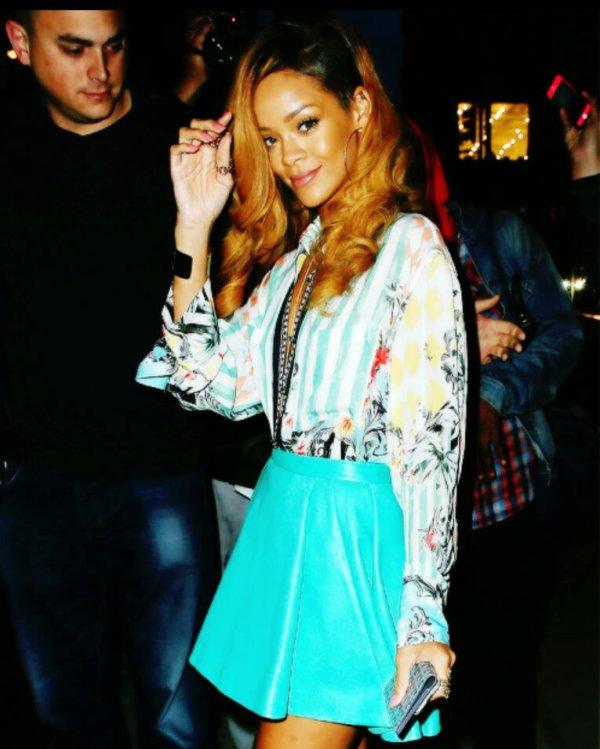 Rihanna In NY [09/05/13]