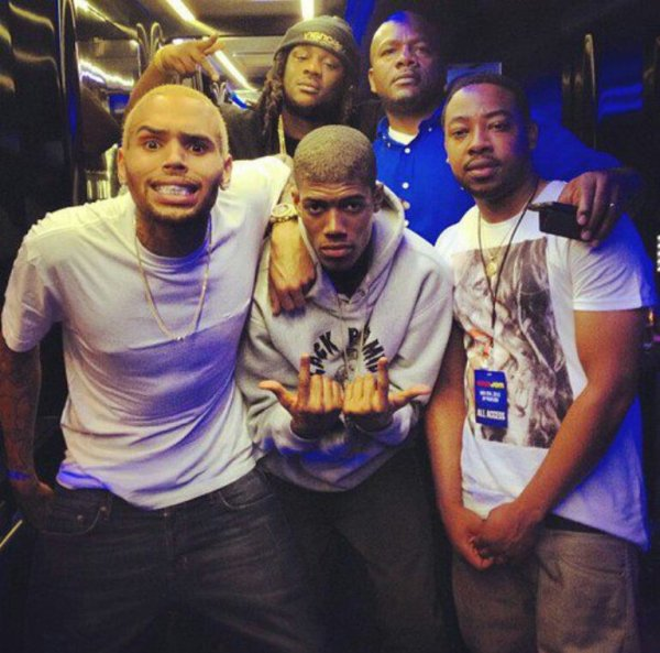 Chris Breezy With OHB [10/05/13]