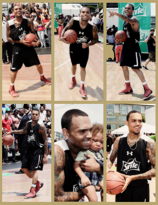 Chris At BET Experience [29/06/13]