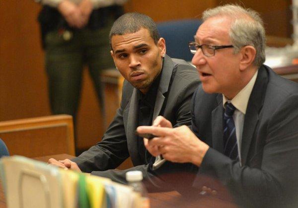 Chris Brown Au Tribunal [15/06/13]