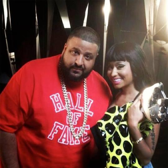 DJ Khaled Demande En Nicki Minaj Mariage !! [25/07/13]