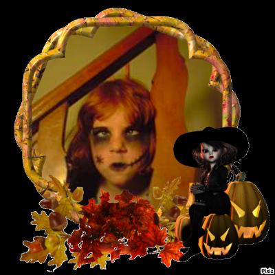 voicie mes 4 pestouilles déguisée pour halloween :o)