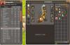 Les équipements et caractéristiques actuel des personnages !