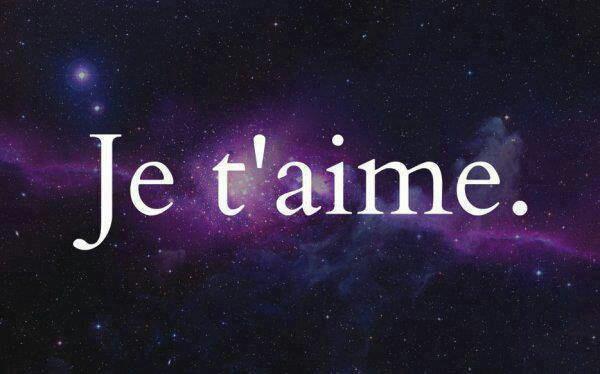 Oui je vous aime! !!!!!!