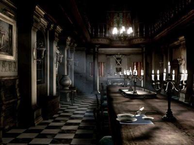 Resident evil rebirth le manoir rez de chaus e aile for Salle a manger harry potter