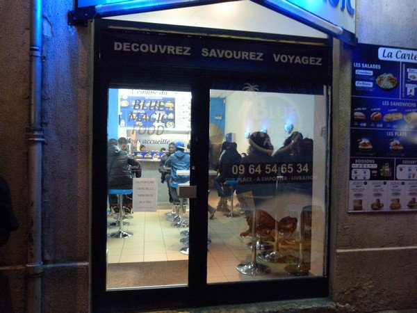 OUVERTURE DU BLUE MAGIC FOOD A LYON VILLEURBANNE LE 18 AVRIL 2012