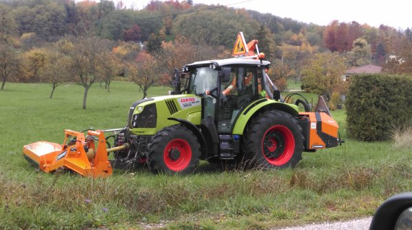 Claas Arion 420 + Noremat