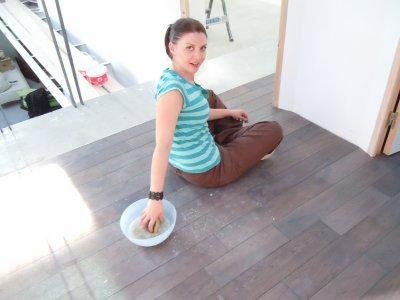 Nettoyage de parquet