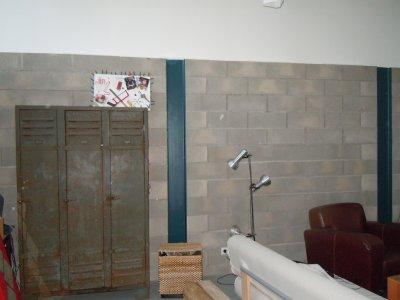 Le mur en parpaing