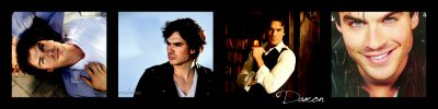Damon Salvatore alias Ian Somerhalder