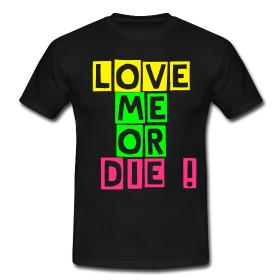 Le narcissisme du ghetto sur ce T-shirt Ghettoyouth !!!