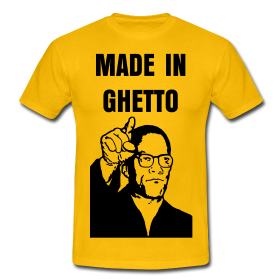 T-shirt MALCOLM X, ce pasteur on ne peut plus made in ghetto
