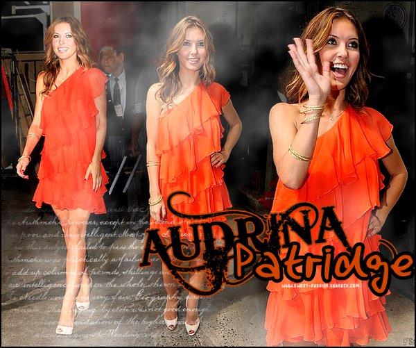 - __• Sweet-Audrina.skyrock.com ©_________Ta source sur la magnifique star et actrice Audrina Patridge !