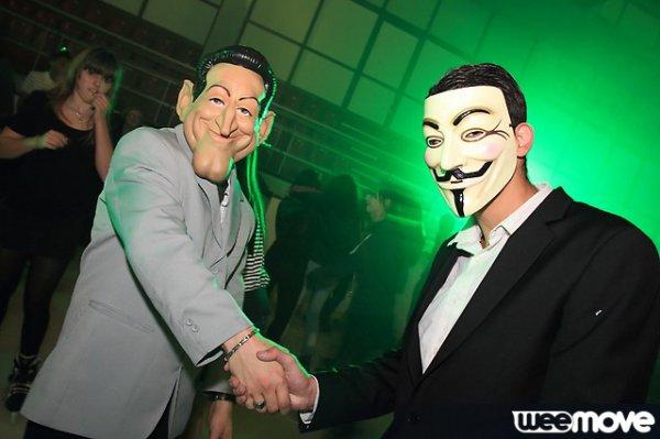 Quand Sarkozy rencontra Anonymous :)