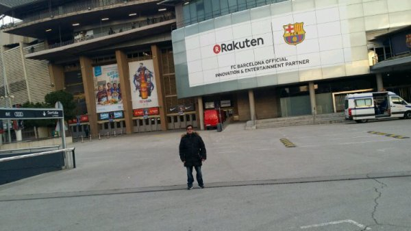 La stade Barcelone