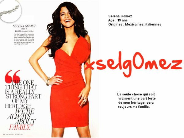 23 septembre 2011 | Latina Magasine scans