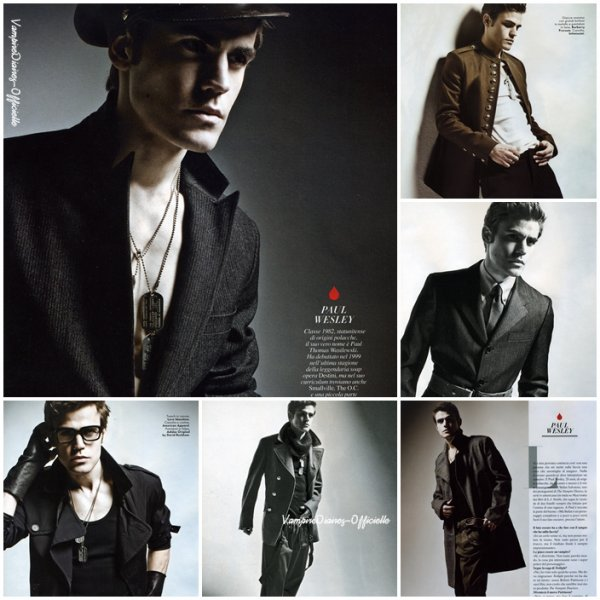Scans Vanity Fair Italy October 2010 For PaulW