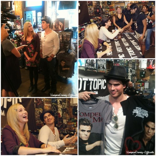 Hot Topic Tour In DALLAS