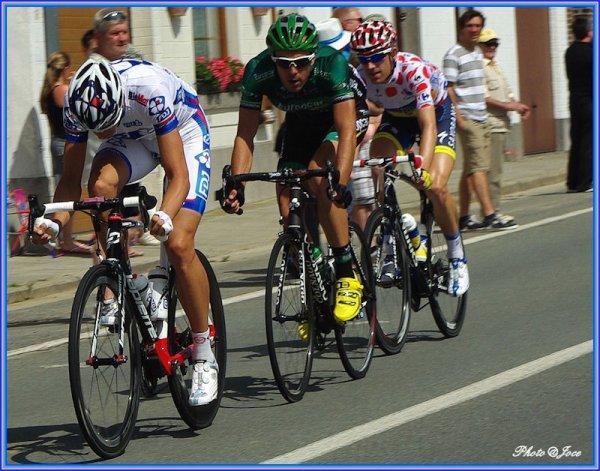 Le Tour de France passait à Ronquières.