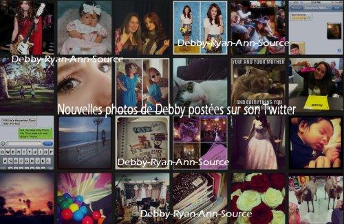 Nouvelle photos de Debby postées sur sont Twitter