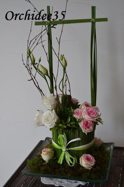 rose, lysianthus,