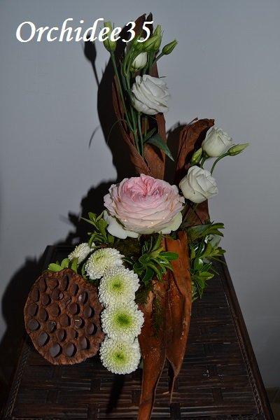 rose, lysianthus,santini