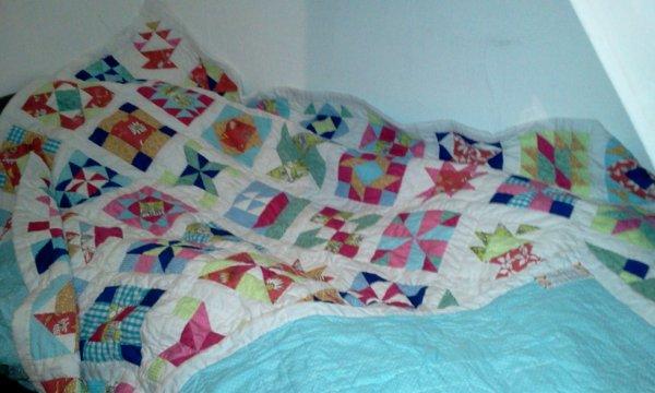 Couvre-lit en patchwork