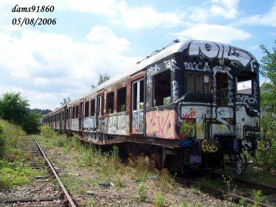 adieux aux Z23 RER B 05/08/2006 à versailles feraillées en 2007 2