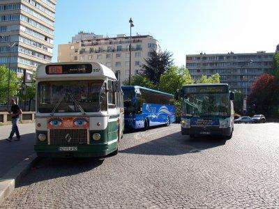 sortie avec le SC10UO de l'association Busparisiens à Paris le 09/04/2011