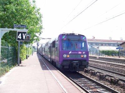 sncf rer c vitry les ardoines 22/05/2011