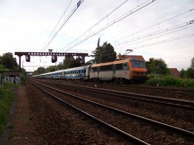 Trains TET (ex CIC), Téoz sncf et couchettes Trenitalia 22/07/2011