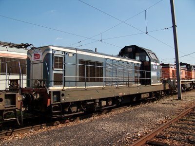 BB 60000, 63500, 64600, 66000 Infra à Villeneuve 31/07/2011