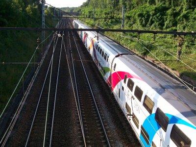 TGV duplex laboratoire dasye 746 livrée Rhin-Rhône le 01/08/2011