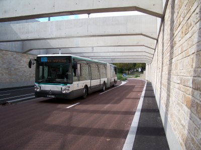 Citélis 18 RATP ligne 393 TCSP