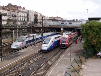 TGV et TER MONTPELLIER