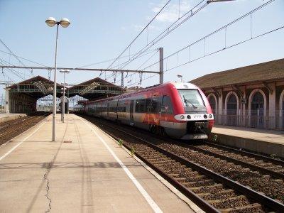 TER Languedoc Roussillon et FRET AKIEM SETE