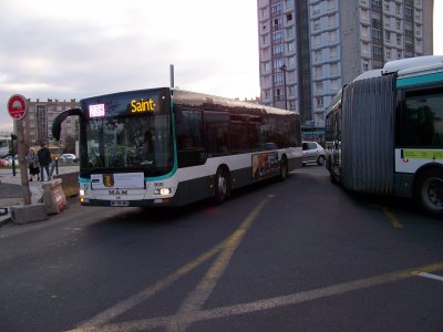 RATP man lion's city et citybus GX317 13/10/2011
