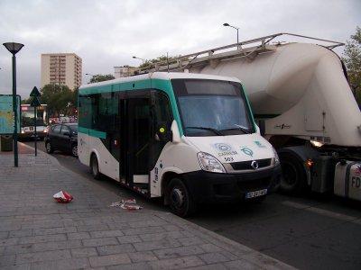 RATP Irisbus cytios 13/10/2011