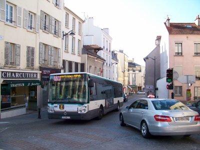 RATP ligne 124 Eglise St Germain Fontenay sous Bois 16/10/2011