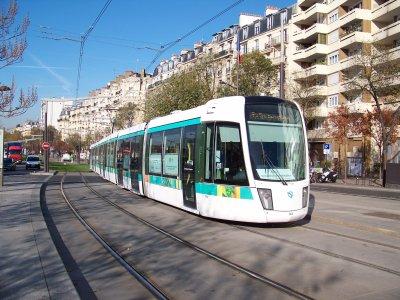 RATP essais tramfret T3 14/11/2011