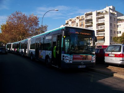 RATP ligne 208 19/11/2011