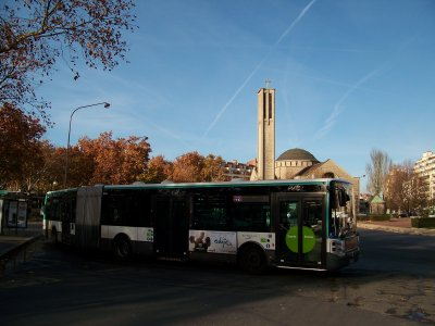RATP divers porte de St Cloud 30/11/2011