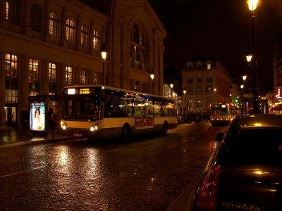 RATP bus gare du nord 03/12/2011