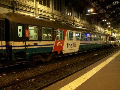 Thello gare de Lyon 11/12/2011